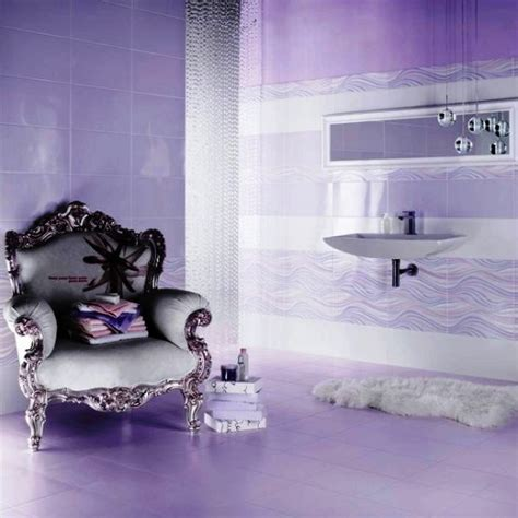purple themed bathrooms cool thing about purple color theme is that it can