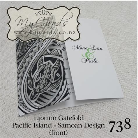 diy wedding invitations auckland pacific island wedding invitation design 738