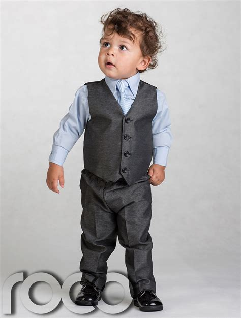 newborn baby boy suits boys grey waistcoat suit baby boys charcoal suits boys