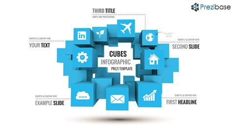 Cubes Infographic Prezi Presentation Template Creatoz Collection Prezi Style Powerpoint Template