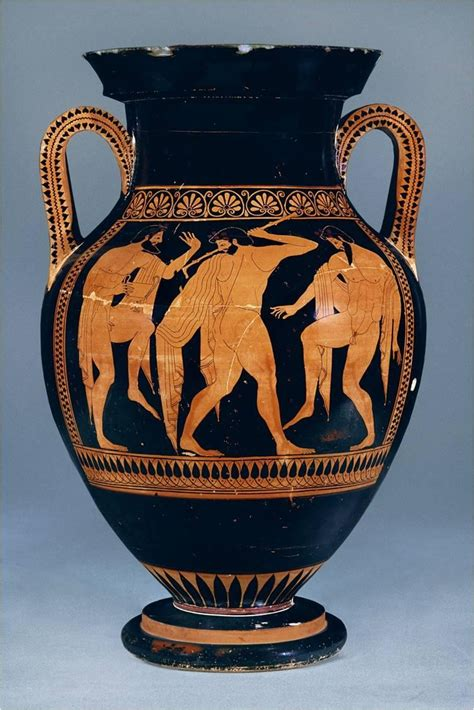 Athenian Vase by Ancient Figure Pottery And Architecture The