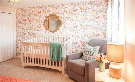 Gallery Roundup Rainbow Project Nursery Baby Showers Bring Decorative Wall Flowers Project Nursery