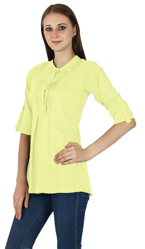Stylish Shirt Dresses by New Indian Fashion Clothing Casual Summer Top