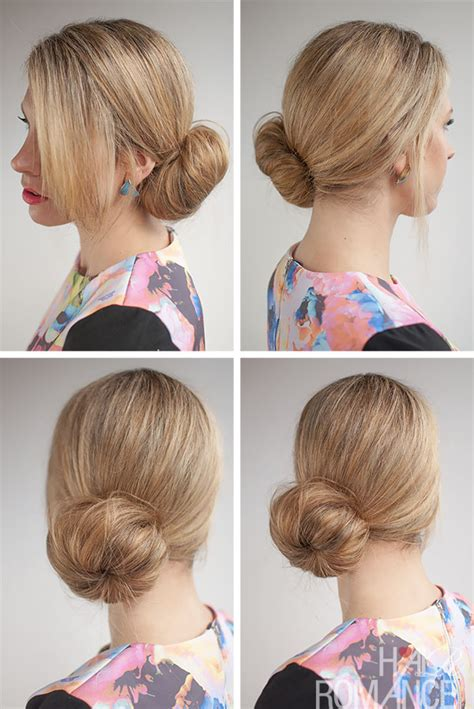 side buns for shoulder length fine hair 30 buns in 30 days day 25 the side sock bun hair romance