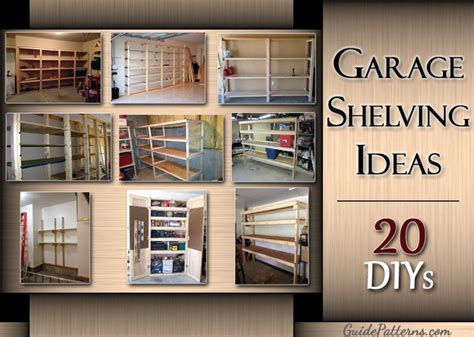 diy garage shelving ideas guide patterns garage