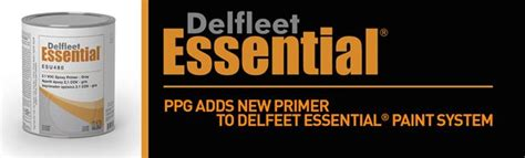 ppg adds new primer to delfleet essential paint system