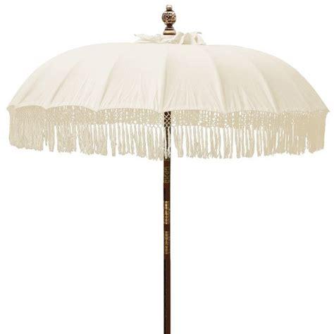 Patio Umbrella Fringe Fringed Patio Umbrella