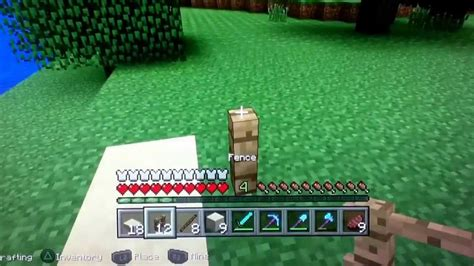 how to make a bench on minecraft how to make a bench press on minecraft ps3 edition youtube
