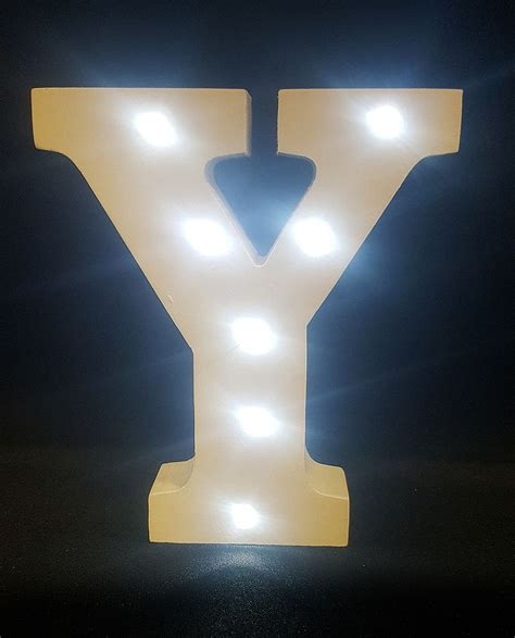 light up letters to buy buy wooden led light up letter white y from chair cover