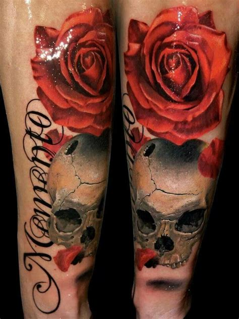 sick skull tattoos realistic skull make your