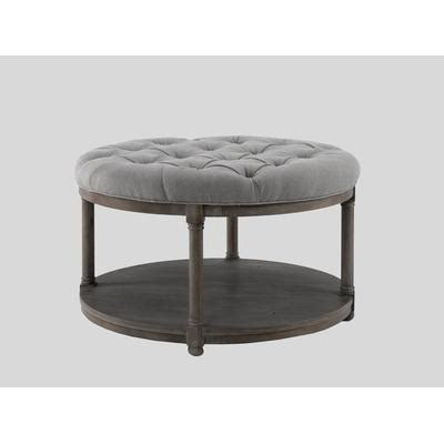 Tufted Upholstered Ottoman Coffee Table Upholstered Ottoman Coffee Table Ottomans Coffee Tables Leather Upholstered Ottomans