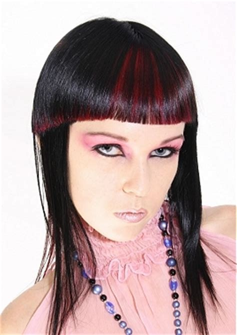 old goth bangs hairstyle long punk hairstyles and haircuts hairstyles 2015 hair