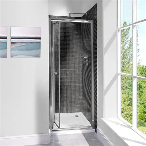700 Bi Fold Shower Door Aquafloe 6mm 700 Bi Fold Shower Door