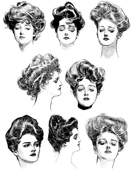hairstyles from 1900 s early 1900 women hairstyles hairstylegalleries com