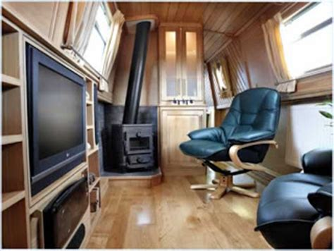a boat operating in a narrow channel my ideal narrowboat interior design