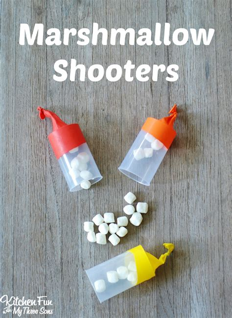 marshmallow crafts for marshmallow shooters and smart school house crafts for