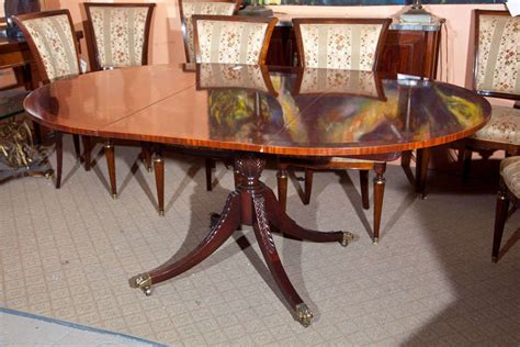 fine dining room tables fine flame mahogany circular dining room table for sale at