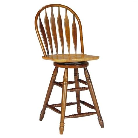 honey oak bar stools winsome wood 30 inch windsor swivel seat bar stool natural