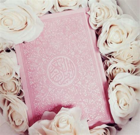 muslim pink islam koran pink quran roses image 2866316 by