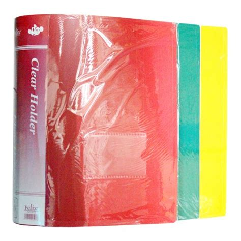 Harga Promo Clear Holder 40 Pocket jual clear holder album felix a4 60 pocket atk00200714436