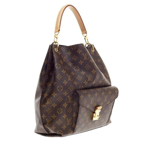 Lv Metis 3 louis vuitton metis hobo monogram canvas for sale at 1stdibs