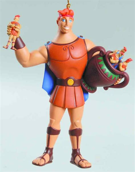 disney ornament hercules boxed by grolier replacements ltd
