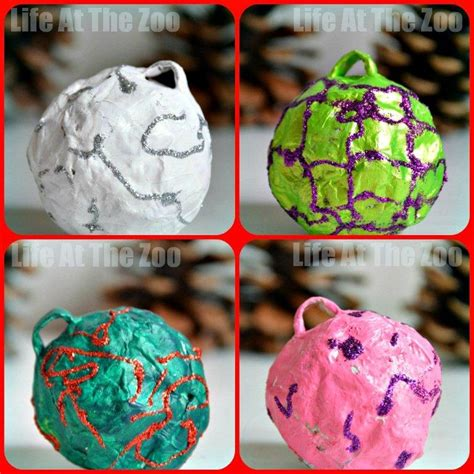 How To Make A Paper Bauble - ornaments at the zoo