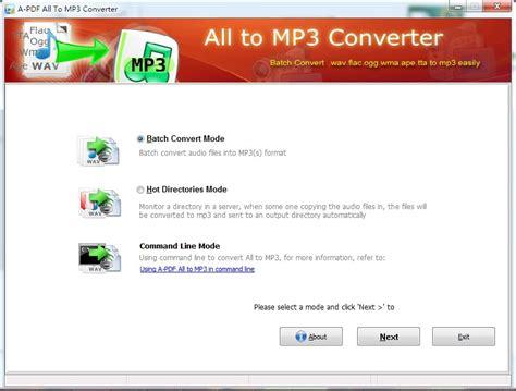 free download mp3 gac param batch convert wma wav ogg ape flac tta to mp3 format