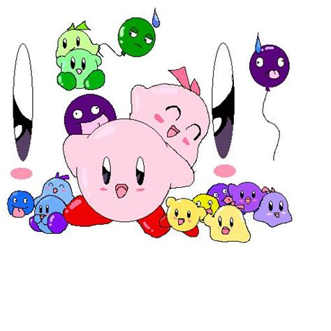 color coded net color coded kirby by anigirr on deviantart