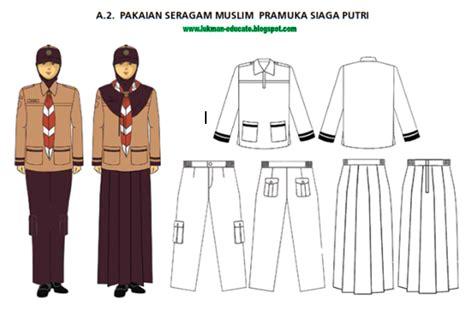 Pakaian Seragam Putri Islam pakaian seragam pramuka terbaru lukman nulhakim