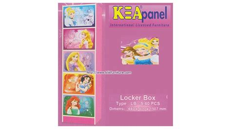 Locker Box Karakter Princess Lb 540 Pcs locker box princess lb 5 40 pcs kea panel