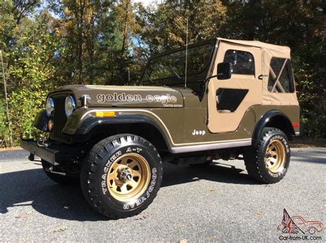 jeep golden eagle for sale jeep cj golden eagle all original