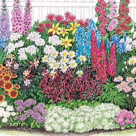Perennial Flower Garden Layout Rustic Flower Garden Perennial Flower Garden Layout