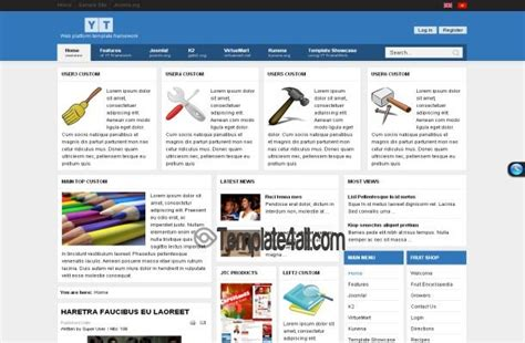 shopping cart joomla theme free download