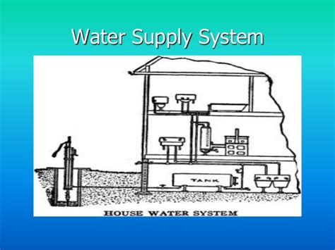 Types Of Plumbing Systems by Basic Plumbing System