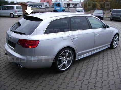 Audi A6 4f Avant by Audi A6 C6 4f Avant Roof Spoiler Rear Spoiler S Line Roof