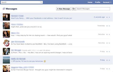 fb inbox facebook revela su sistema moderno de mensajer 237 a unificada