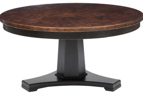 custom dining 60 quot round pedestal table by bassett justine 60 round pedestal dining table costa rican furniture