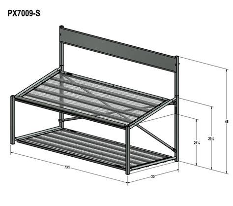 angled bench angled bench display multi tiered plastic display