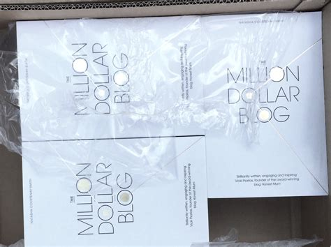 the million dollar blog 0349414068 first look at my new book the million dollar blog natasha courtenay smith