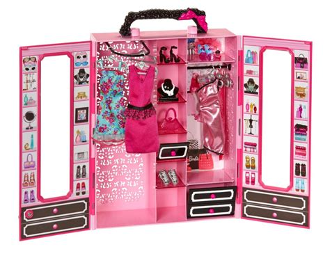 Barbies Closet by Mattel Style Ultimate Pink Fashionista Closet