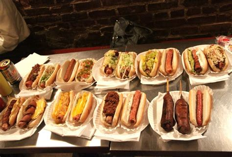 crif dogs nyc crif dogs menu rank of the dogs at crif dogs thrillist ny