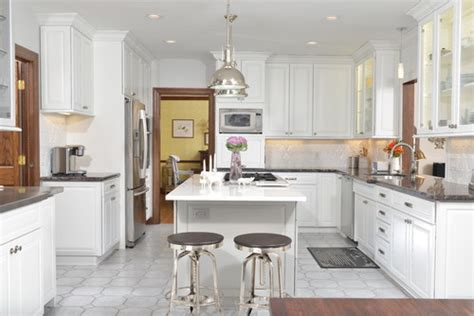 Kitchen Cabinets Design by Are These 8 Or 9 Foot Ceilings