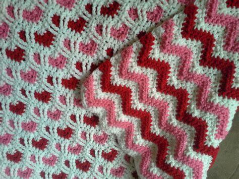 Sweetheart Reversible Ripple Afghan Pattern | sweetheart reversible ripple the sparkly toad