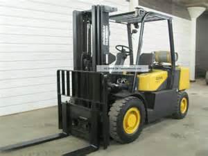 Daewoo Doosan Forklifts 2006 Daewoo Doosan 8 000 Lpg Forklift Pneumatic Tires