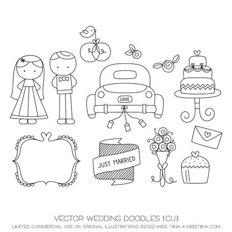 doodle family vector free wedding doodles vector images by sugarhillco miss tiina