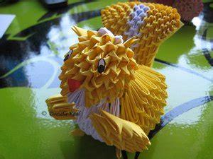3d Origami Squirrel - squirrel by daantjuh 3dg 3d origami