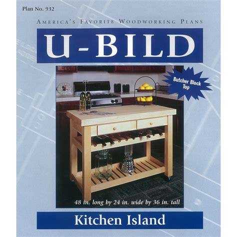 woodworking plans kitchen island shop u bild kitchen island woodworking plan at lowes com