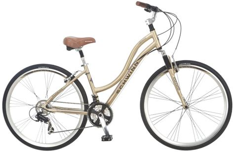 comfortable womens bike schwinn midmoor 700c womens alloy hybrid comfort bike