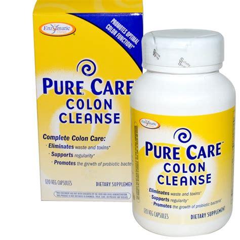 Colon Cleanse Vs Detox by Enzymatic Therapy Care Colon Cleanse 120 Veggie